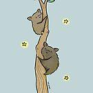 Lovely Hog Nose Bat Friends by zoel