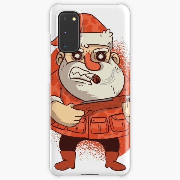Santa, The hunter of Christmas Samsung Galaxy Snap Case