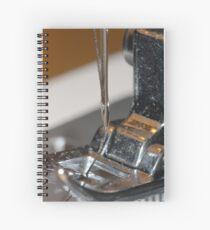 Sewing machine Needle Spiral Notebook