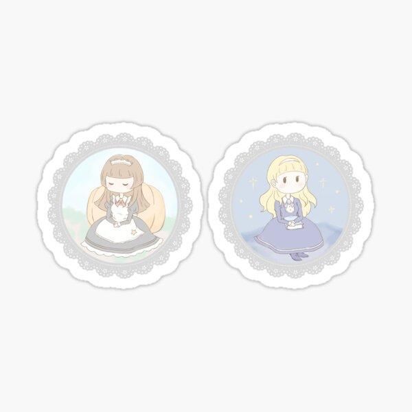 Trick & Treat sticker set: Amelia and Charlotte Sticker