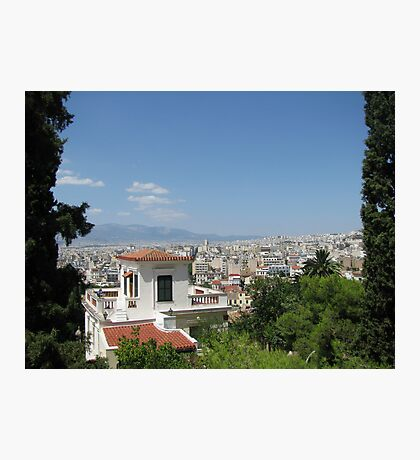 Summer Athens, Greece photography Photographic Print