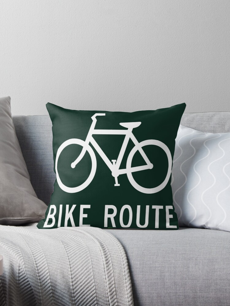 Your Bike Route by kj dePace'