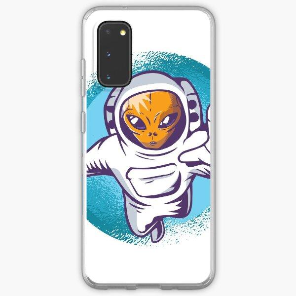 Alien Astronaut Samsung Galaxy Soft Case