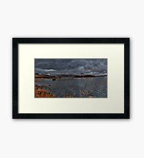 Rannoch Moor: Pending Rain Framed Print