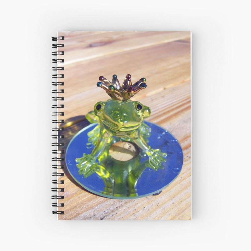 frog prince Cuaderno de espiral