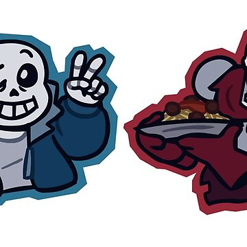 Sans and Papyrus by WiittyUsername