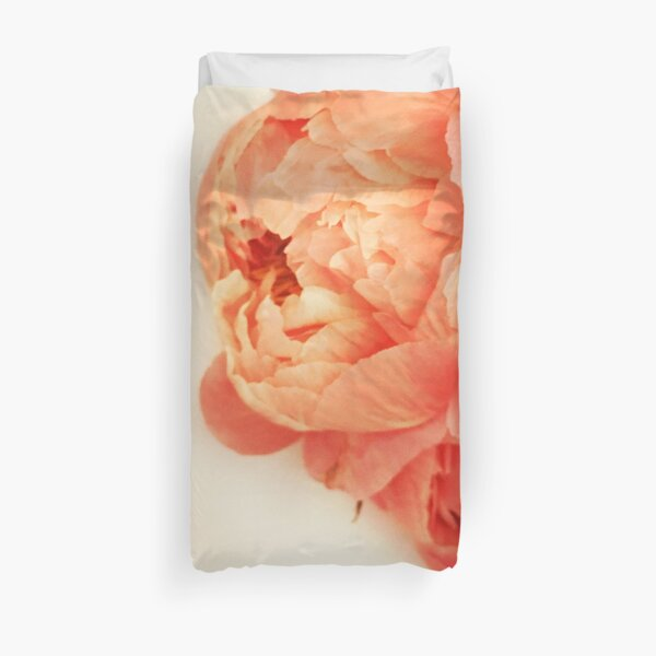 oh my these peonies Duvet Cover