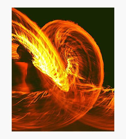 FIRE SERPENT  Photographic Print