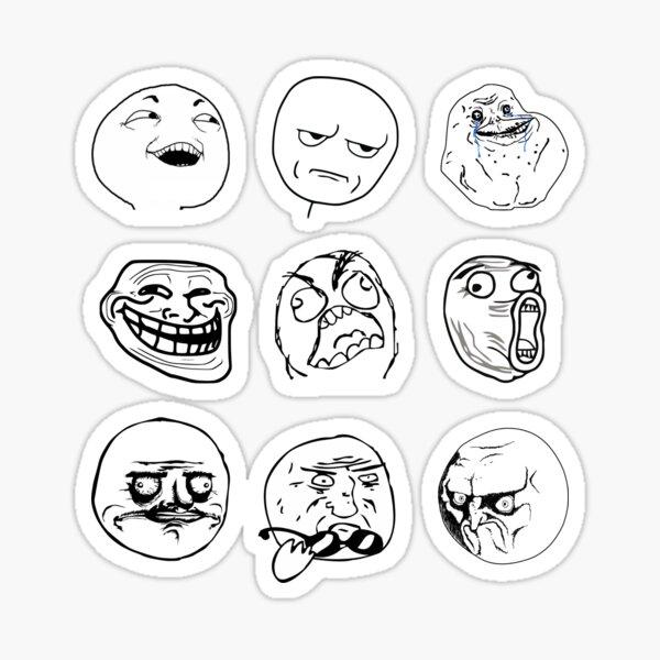 Rage Faces  Sticker