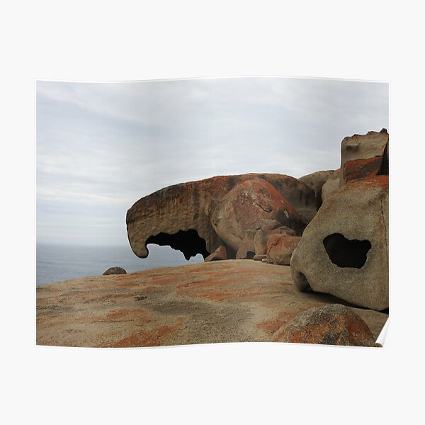 Remarkable Rocks at Kangaroo Island, South Australia  Poster