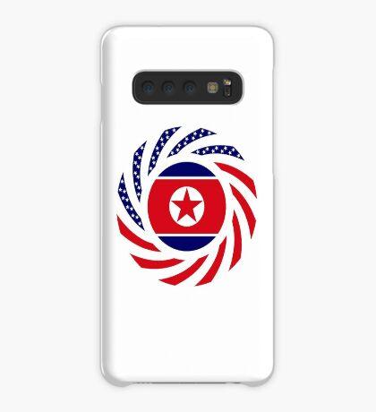 North Korean American Multinational Patriot Flag Series Case/Skin for Samsung Galaxy