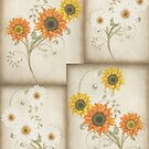 Sunflowers Pattern by LoneAngel