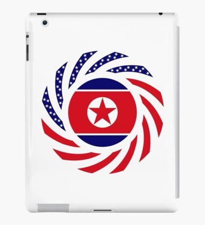 North Korean American Multinational Patriot Flag Series iPad Case/Skin