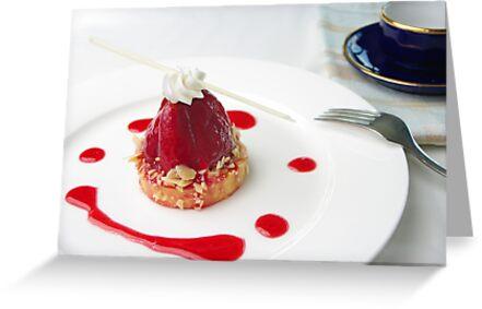 Strawberry Tart by openyourap