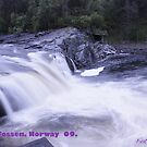 Waterfall . Trondelag . Norway . by Brown Sugar with WOOOOOws !!! thanks !!!  View (248) favorited by (1) thx ! OK! by © Andrzej Goszcz,M.D. Ph.D