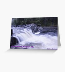 Waterfall . Trondelag . Norway . by Brown Sugar with WOOOOOws !!! thanks !!!  View (248) favorited by (1) thx ! OK! Greeting Card