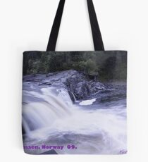 Waterfall . Trondelag . Norway . by Brown Sugar with WOOOOOws !!! thanks !!!  View (248) favorited by (1) thx ! OK! Tote Bag