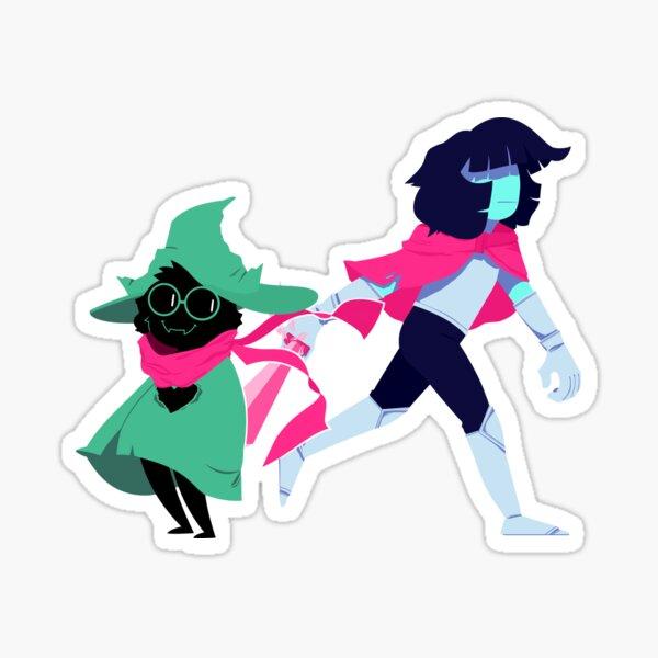 Kris and Ralsei Sticker