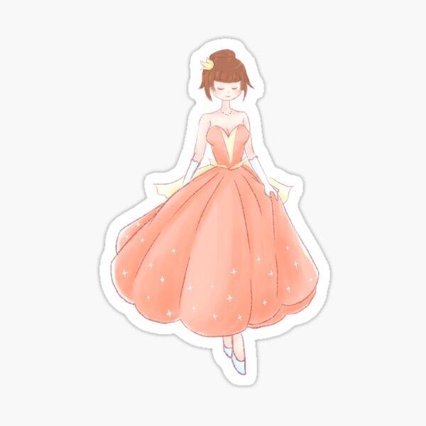 Pumpkin Fairytale: Cinderella Sticker