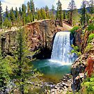 Rainbow Falls Panoramic by Joe Lach