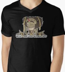 What are you gonna do? V-Neck T-Shirt