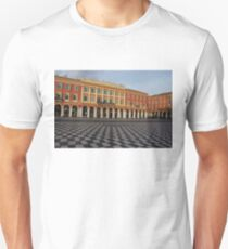 Nice, France, French Riviera - the Cheerful Colors of Place Massena  Unisex T-Shirt