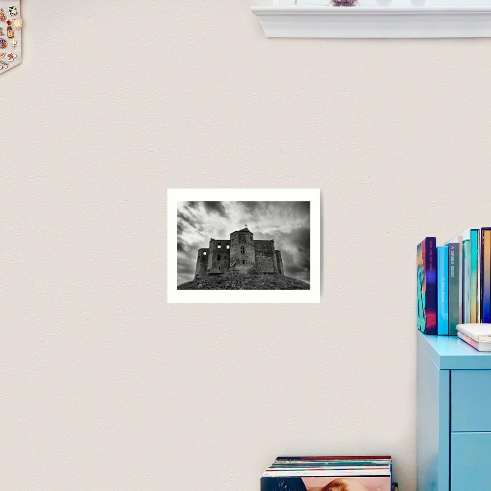 Warkworth Castle: Northumberland Art Print