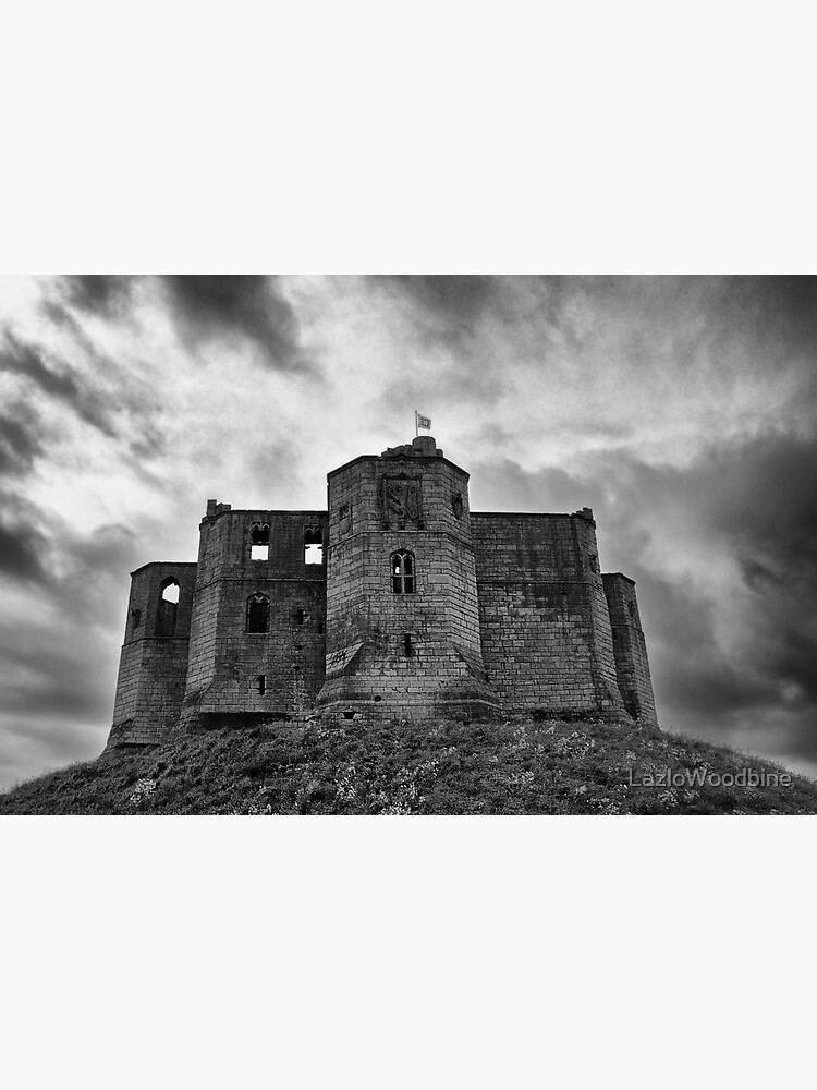 Warkworth Castle: Northumberland by LazloWoodbine