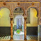 Horseshoe Arches in the Alcázar, Seville. by MikeSquires