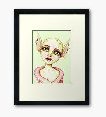 Goblin Girl Wishes Framed Print