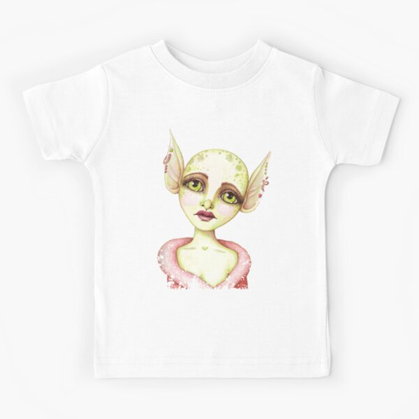 Goblin Girl Wishes Kids T-Shirt