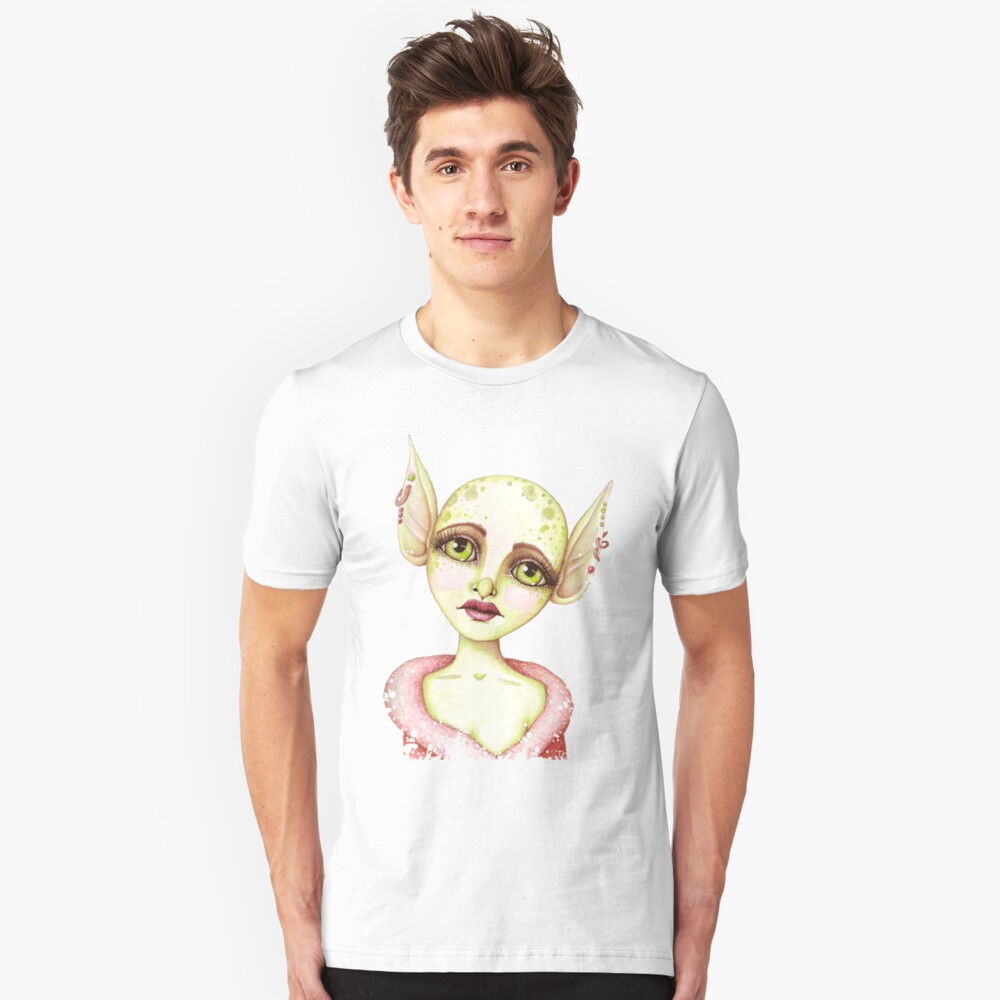 Goblin Girl Wishes Unisex T-Shirt Front