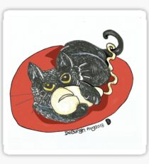 Catting About Sticker