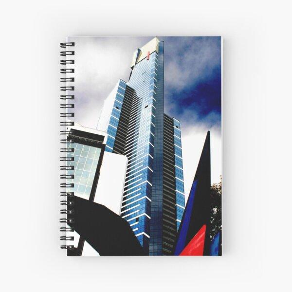 Eureka Blue Spiral Notebook
