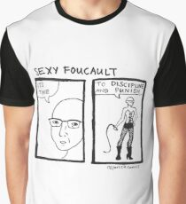 Sexy Foucault Graphic T-Shirt