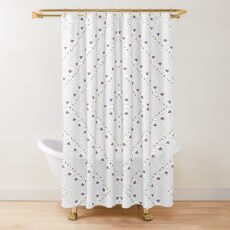 Impossible poiuyt by Hypersphere Shower Curtain