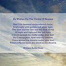 """""""He wishes for the cloths of heaven"""" by William Butler Yeats by Philip Mitchell"""
