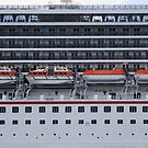 Cruise Ship Geometry by Jane McDougall
