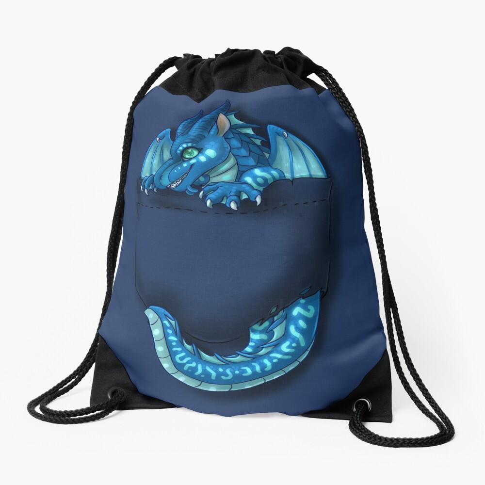 Wings of Fire - Pocket Tsunami Dragon Drawstring Bag