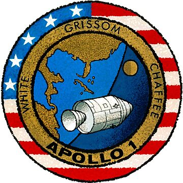 Apollo 1 Mission Patch by zachsbanks