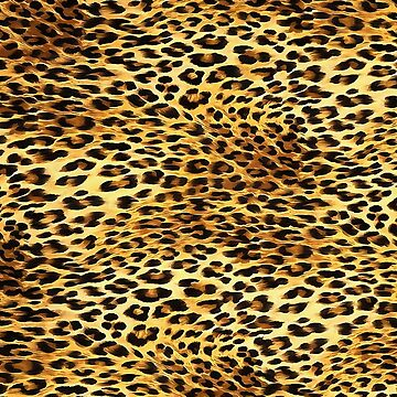 Leopard Skin Camouflage Pattern  by taiche