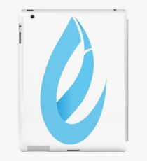 Equitable Blue Flame Logo iPad Case/Skin