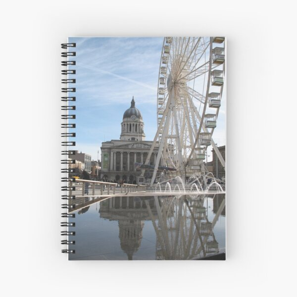 Nottingham Slab Square Spiral Notebook