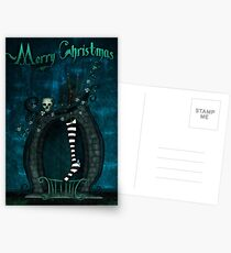 A Witch's Christmas (card) Postcards