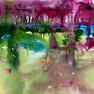 grün und lila von Marianna Tankelevich