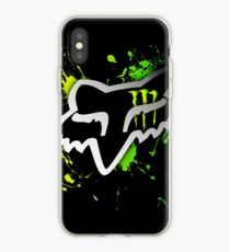 Fox Racing watercolour iPhone Case