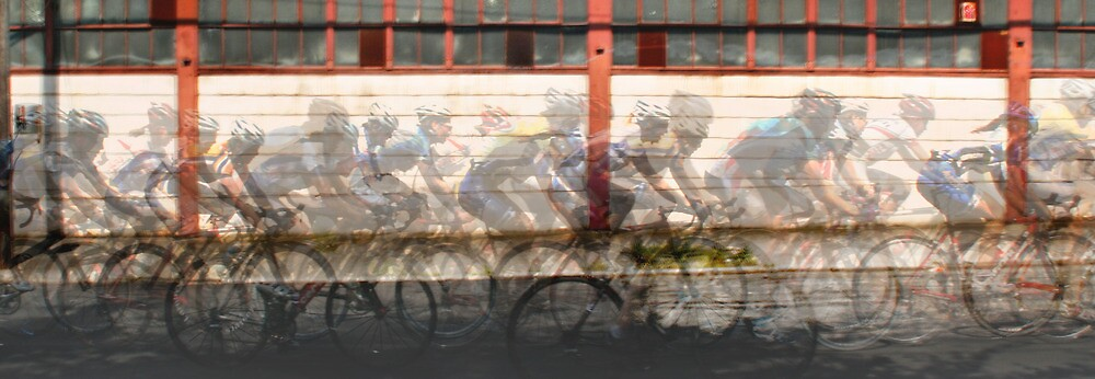 Bike Race by Laurie McCarriar