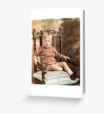 1930 My eldest cousin Greeting Card