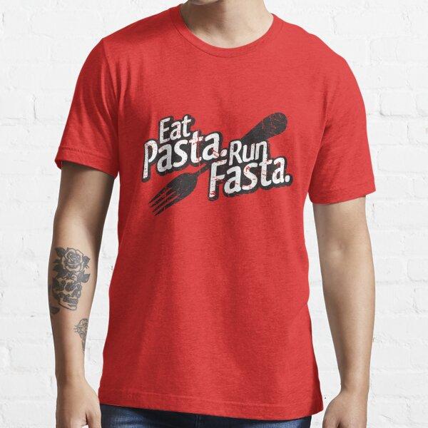 Eat Pasta. Run Fasta. Essential T-Shirt