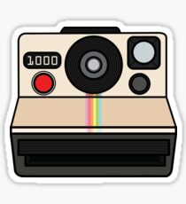Polaroid land camera Sticker